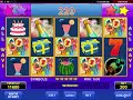 Party Time video slot - Amatic Review online Casino game