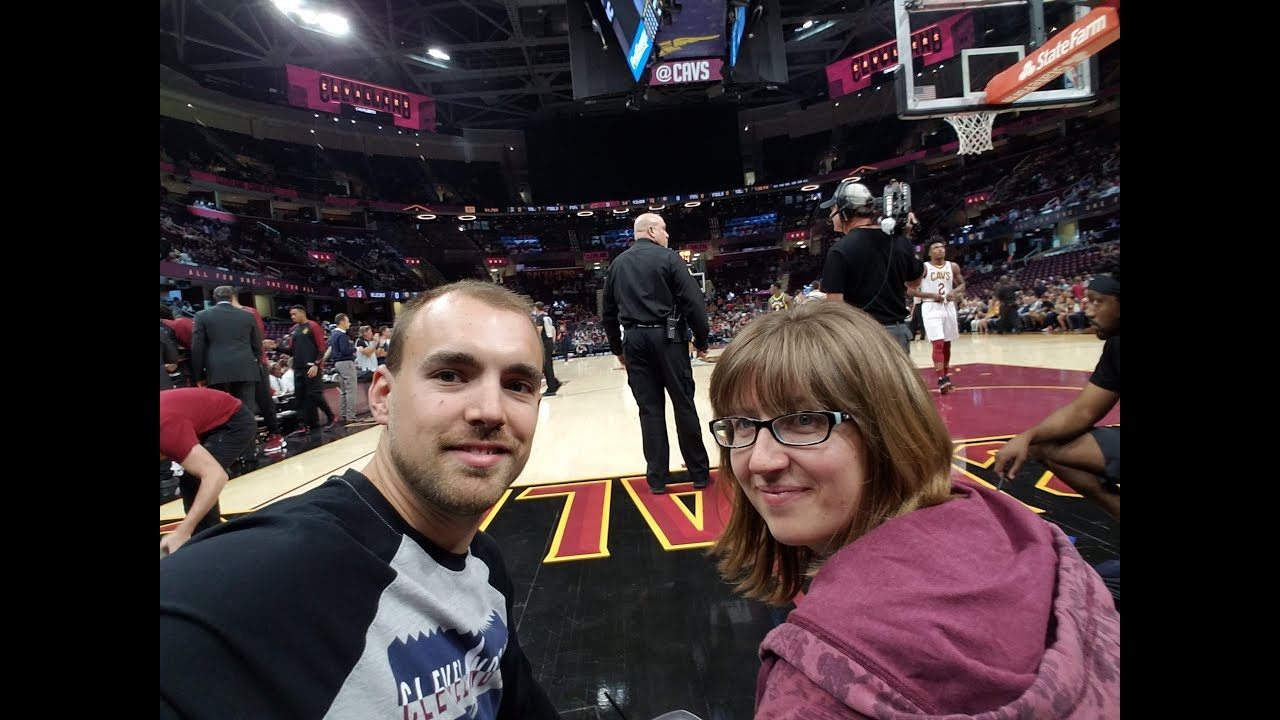 Cleveland Cavaliers Floor Seats And Owner Suite Youtube
