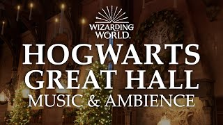 Hogwarts Great Hall | Harry Potter Music & Ambience