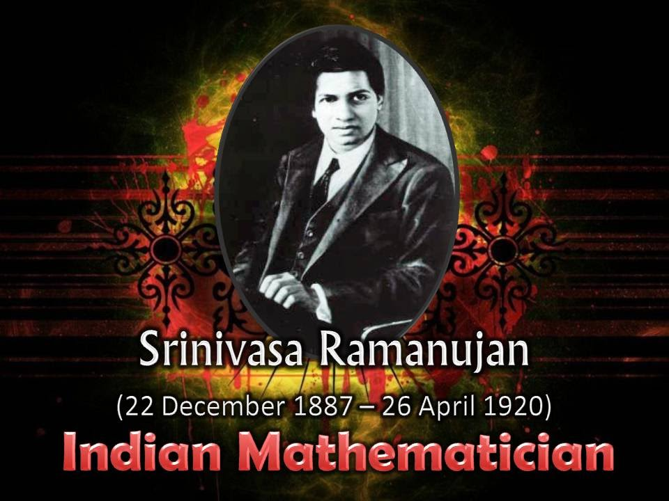 Srinivasa Ramanujan Great Indian Mathmatician Slideshow Video