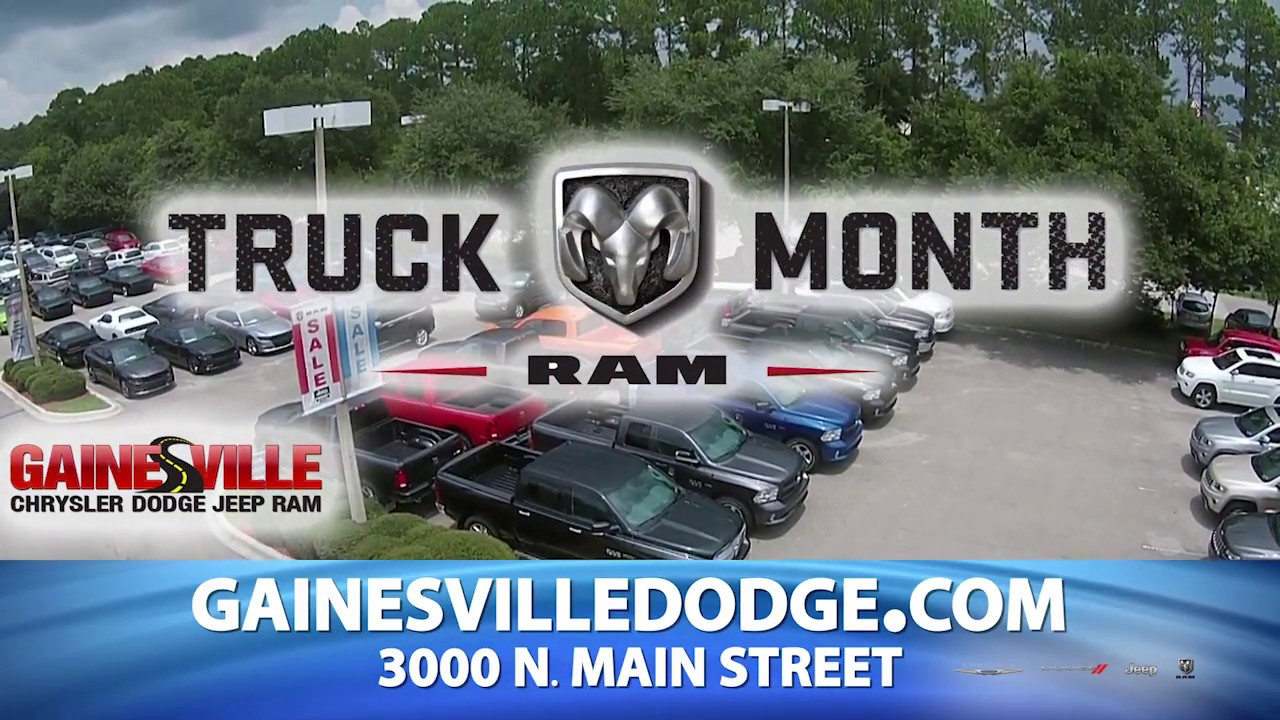Choose 2018 Models at Gainesville Chrysler Dodge Jeep Ram For ...