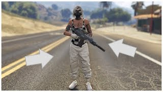 GTA 5 ONLINE CREATE A DOPE MODDED OUTFIT WITH WHITE JOGGERS AFTER PATCH 1.45