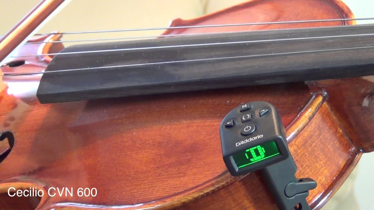 D'Addario NS Micro Violin Tuner | FULL REVIEW