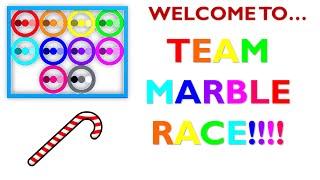 Team Marble Race!
