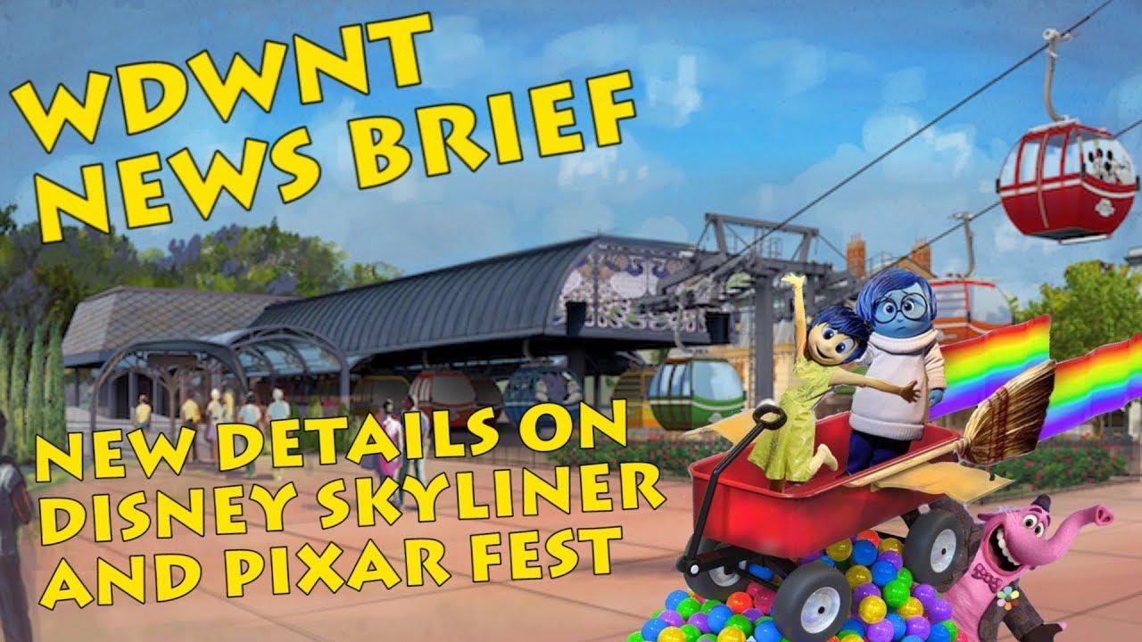 Updates On Disney Skyliner Caribbean Beach Resort And Pixar Fest