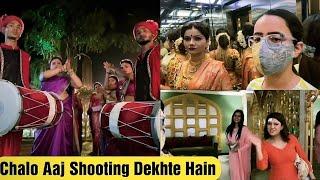 Chalo Aaj Shooting Dekhte Hain || From The Sets Of Shakti || Jyotika Dilaik