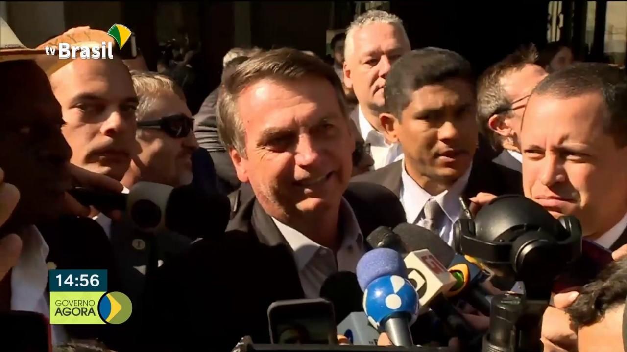 Bolsonaro se reúne com ex-presidente George W. Bush