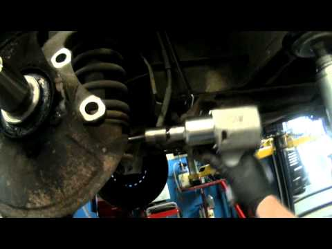 Vanagon (RWD) Front Shock Removal