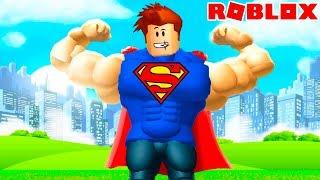 КИД СУПЕРГЕРОЙ в Роблоксе! Самый сильный качок и супермэн в Роблоксе #КИД