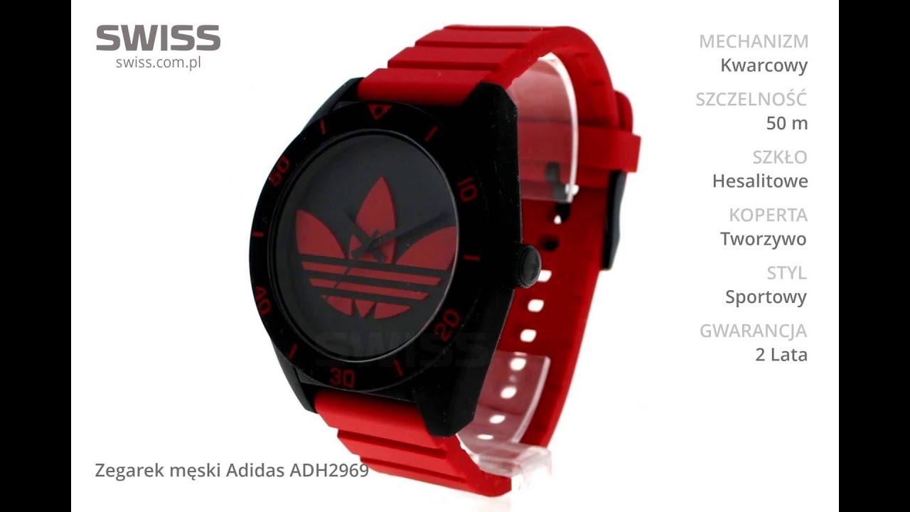 Ukochany www.swiss.com.pl - Zegarek męski Adidas ADH2969 - YouTube #BR-72