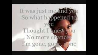 Lianne la Havas - Gone lyrics on screen