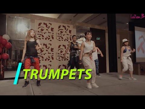 Trumpets   Nhảy Zumba   Zumba Fitness Vietnam   Lazum3