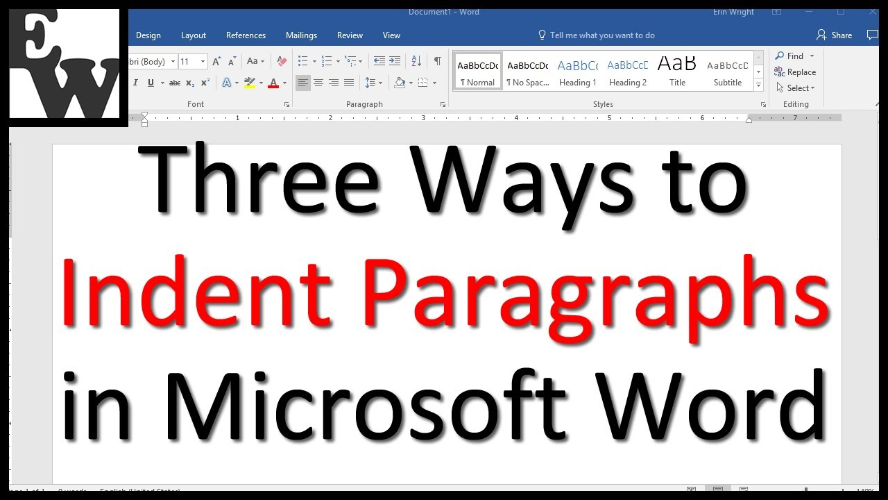 3 Ways to Indent Paragraphs in Microsoft Word (Step-by-Step