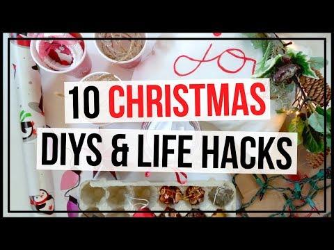 10-christmas-diys,-christmas-organization-tips-&-life-hacks