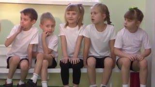 Скалодром в детском саду номер 24 города Междуреченска.