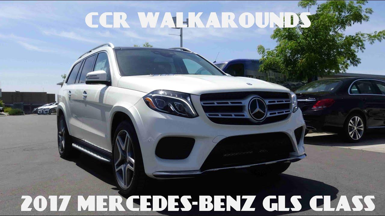 2017 Mercedes Benz GLS Class GLS550 Walkaround Exterior Interior