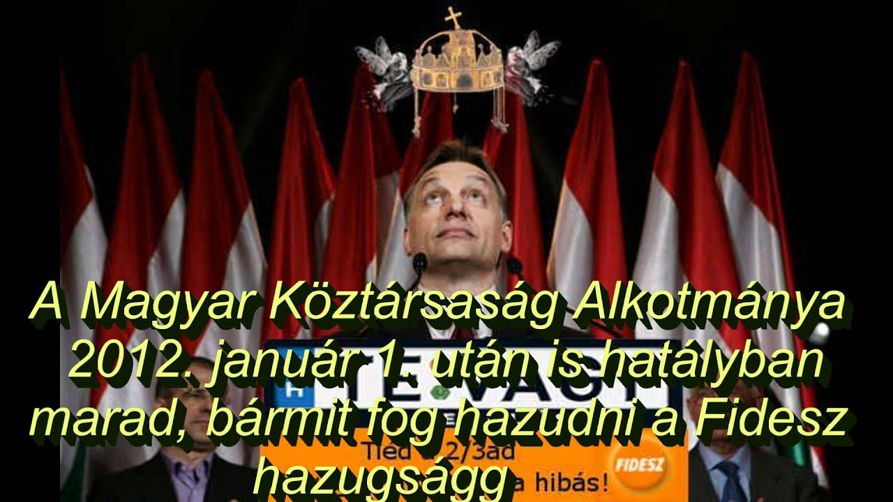 """Képtalálat a következőre: """"Magyar Köztársaság Alkotmánya, 2. § (2)"""""""