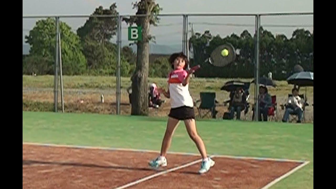 テニス パンチラ JC 九州大会新人戦 中学生女子テニス   熊本vs鹿児島s1