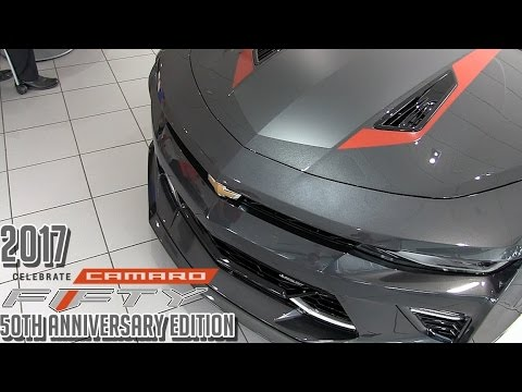 2017 Camaro 50th Anniversary >> 2017 Chevrolet Camaro 50th Anniversary Edition (Start Up, Rev, and Idle) First Look - YouTube