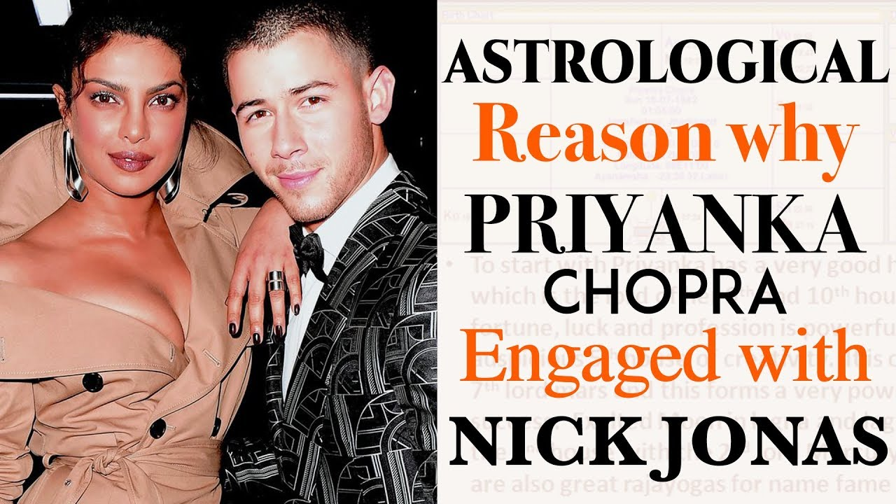 Astrological Reason why Priyanka Chopra Engaged with Nick ...