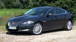 2015 Jaguar XF 2.2D (200 HP) Test Drive