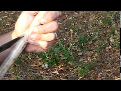 How to make a Native American flute without modern tools