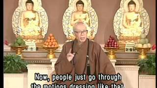 How does Buddhism view traditional funeral customs?(GDD-411) DVD