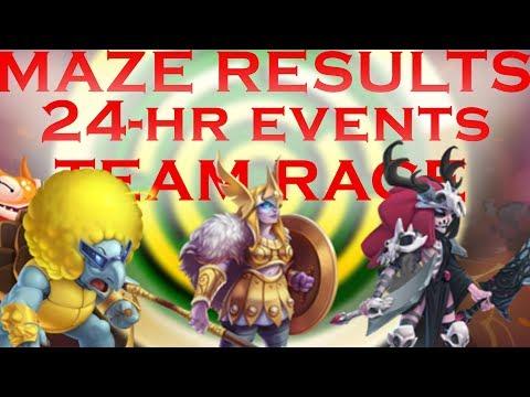 FTP Friendly Thoughts   Rainbow Bridge Maze   24-Hour Progressive Islands   Grand Prix Team Races