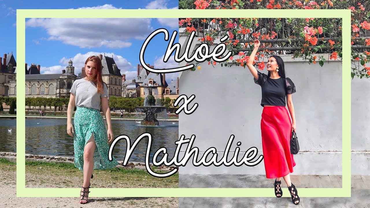 "[VIDEO] - HOW TO STYLE A SILK SKIRT ALL YEAR AROUND | OUTFIT IDEAS WITH CHLOE ""PETITE NYMPHE"" #lookbook 8"