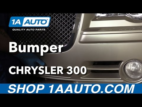 How to Replace Front Bumper Fascia 05-10 Chrysler 300