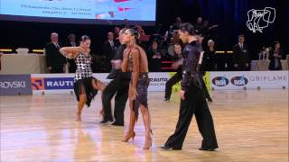 2015 Helsinki PD Open Latin | The Quarterfinal Reel | DanceSport Total