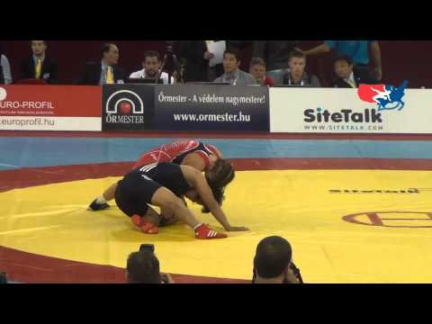 Worlds W - Maroulis (USA) pin Han (PRK), 55 kg