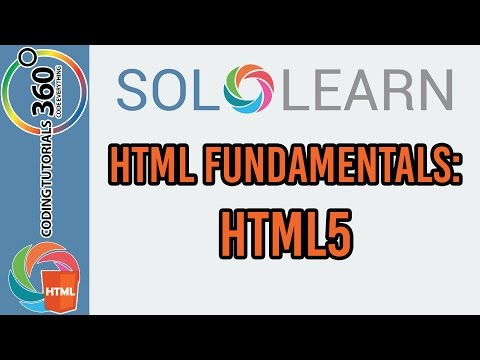 Learn HTML Fundamentals with SoloLearn: HTML5
