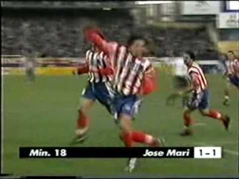 TEMP 98-99 Jornada 20. 1-1 Jose Mari (Atletico-Valencia).wmv