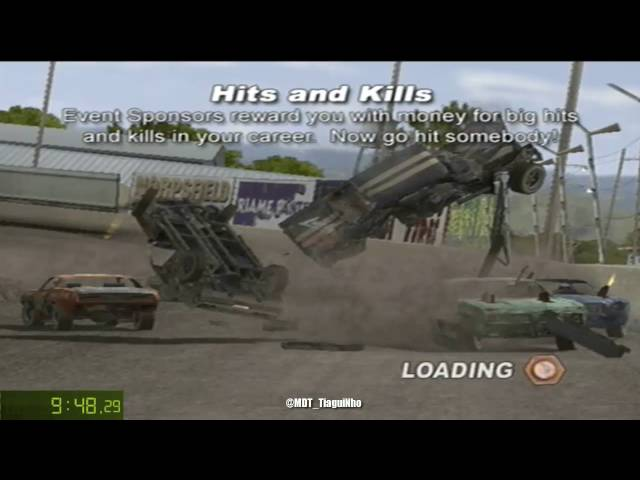 Test Drive: Eve of Destruction [PS2] | SpeedRun Dare Mode 100% in 1:05:04,50 [Former WR]