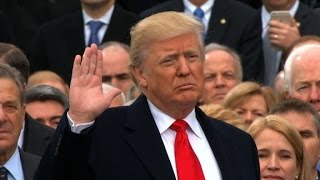 Donald Trump sworn in as 45th US President thumbnail