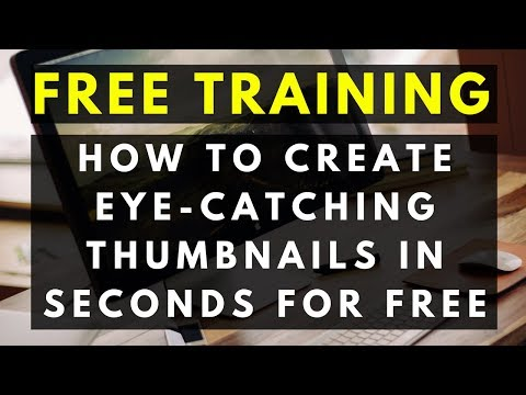 How to Make a Thumbnail for Youtube Videos on Your Phone & Laptop for FREE without Photoshop - Guide