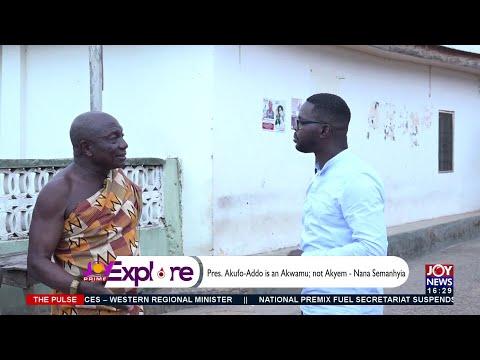 Pres. Akufo-Addo is an Akwamu; not Akyem – Nana Semanhyia - The Pulse on JoyNews (16-9-21)
