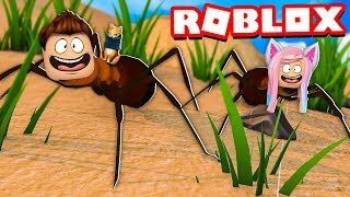 WE BECOME IN HORMIGAS in ROBLOX !! | Roblox Ant Simulator