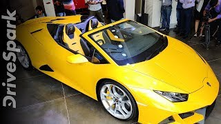 Lamborghini Huracan Evo Spyder Launched | First Look & Walkaround | Prices, Specs & Other Details