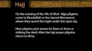 Hajj - On 9th of Dhul-Hijja pilgrims go to the plain of Arafat