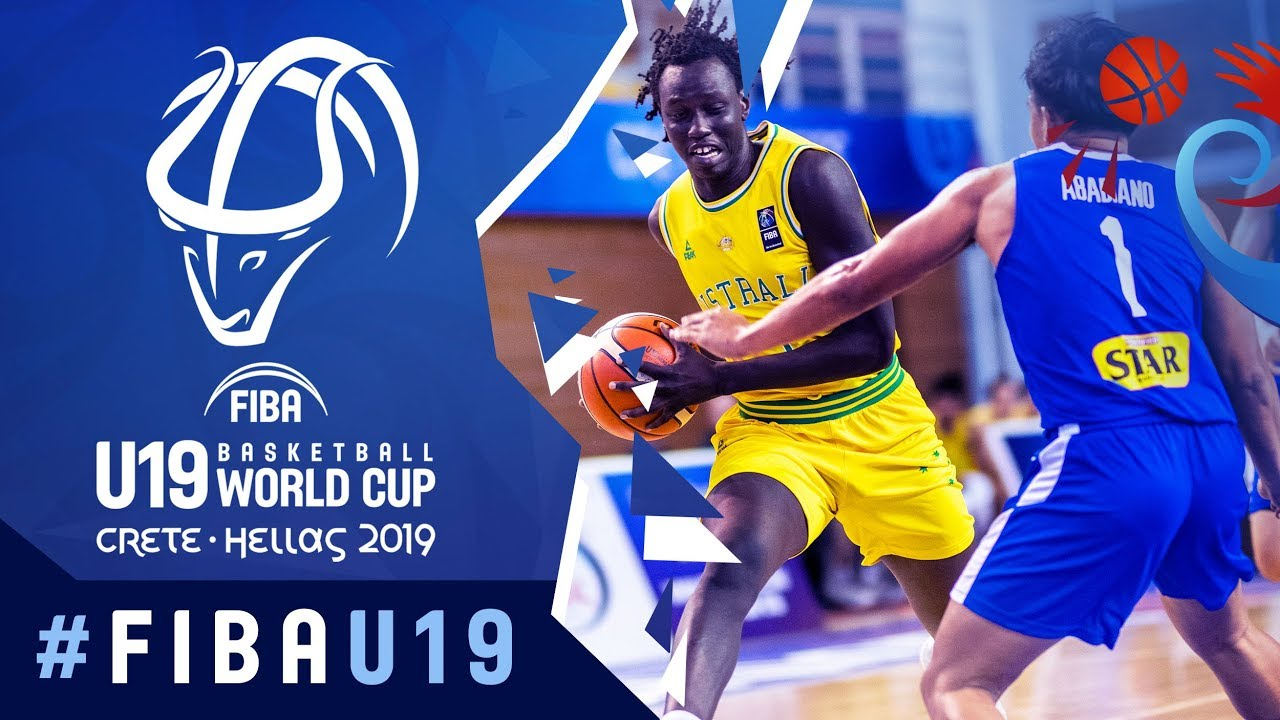 Australia v Philippines - Highlights - Class. 9-16 - FIBA U19 Basketball World Cup 2019