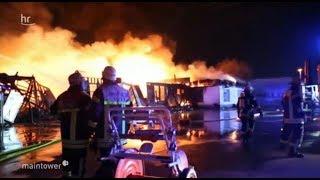 Großbrand in Mainz