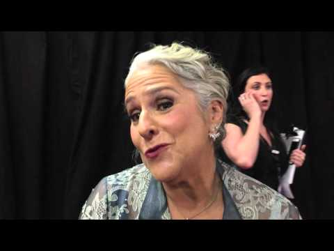 "Marta Kauffman (""Friends,"" ""Grace and Frankie"") chats on Writers Guild Awards red carpet"