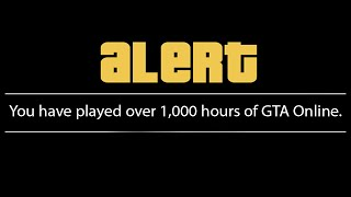 I Just Hit 1,000 Hours in GTA Online