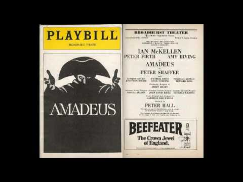 Peter Shaffer's Amadeus - Broadway 1981 Recording (Ian Mackellen and Peter Firth)