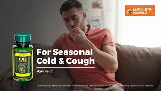 Tulsi - Deal with cold & cough and boost immunity with Medlife Essentials Tulsi