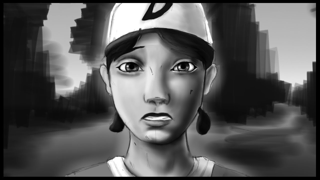 The Walking Dead  Clementine - Drawing