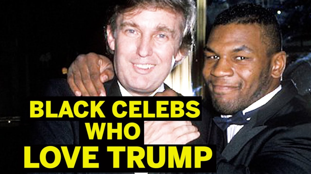 Trump Fans The Media Doesn't Want To Cover: Black Celebrities
