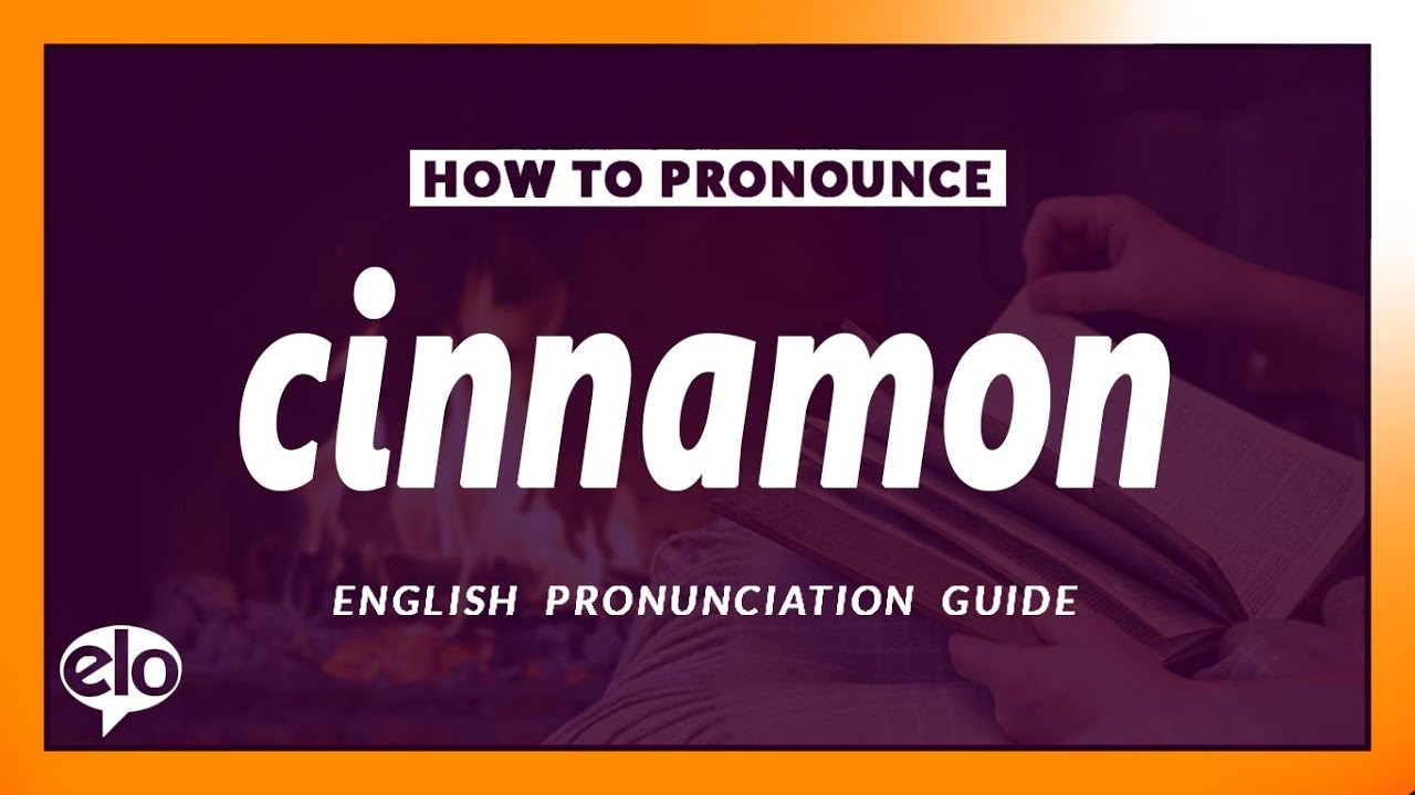 How To Pronounce Cinnamon?  Pronunciation and Definition (Human Voice)